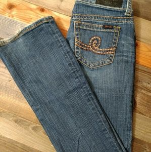 Seven7 | Women's Jeans bootcut Size 6 embroidery